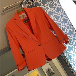 Peachy orange work/ dress up blazer